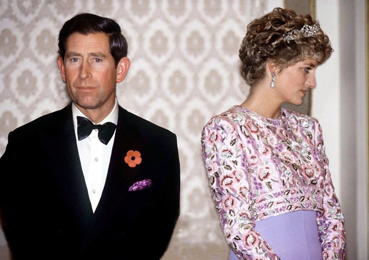 Image: Charles And Diana Unhappy