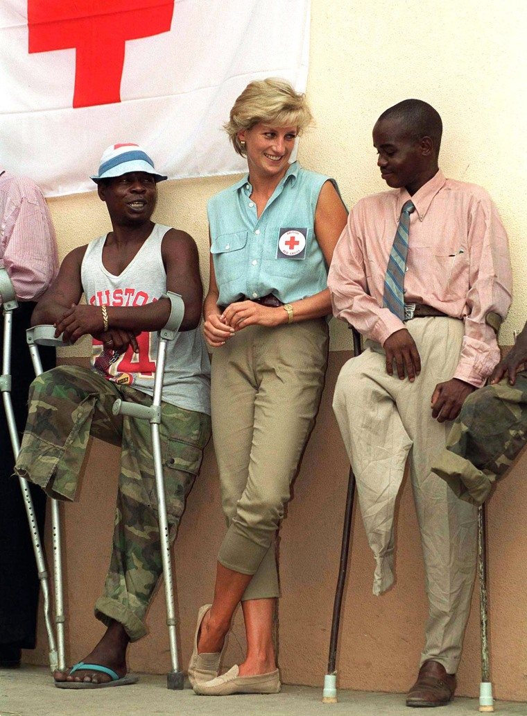 Image: Diana In Angola