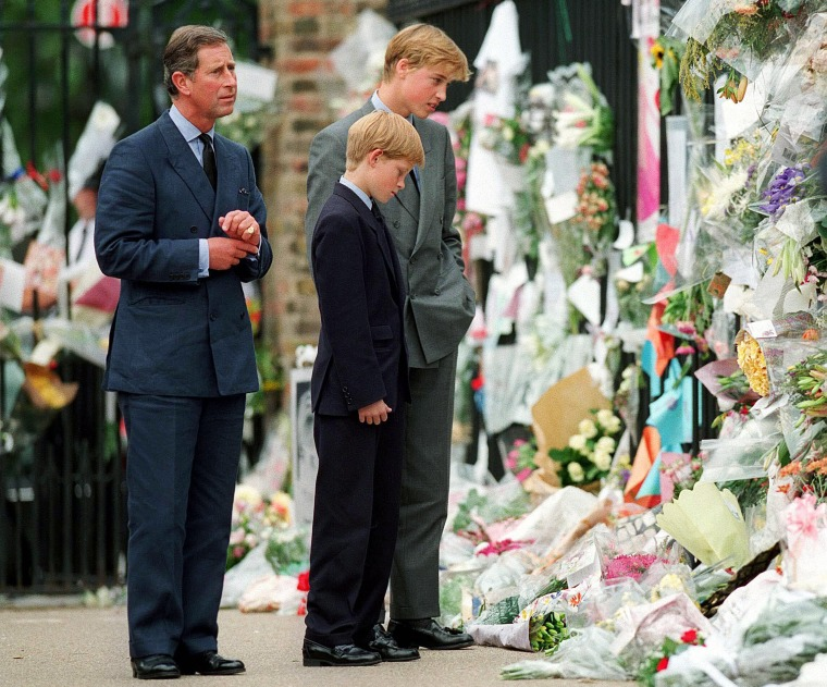 Image: In memory of Diana, Princess of Wales, who was killed in an automobile accident in Paris, France on August 31, 1997.
