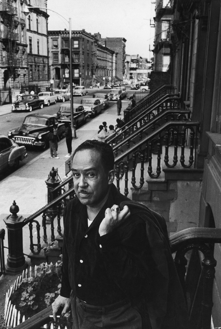 Langston Hughes On The Stoop
