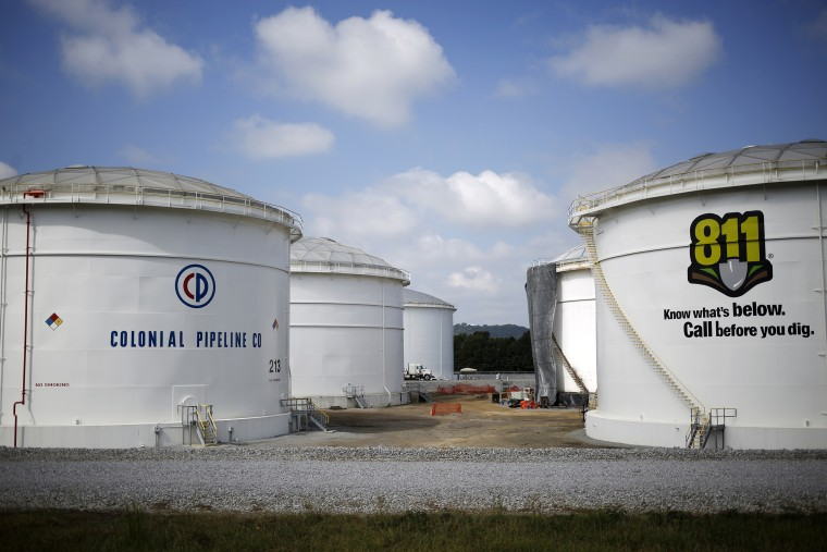 Image: Colonial Pipeline tanks in Alabama