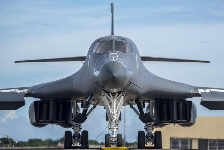 Image: File photo of a U.S. Air Force B-1B