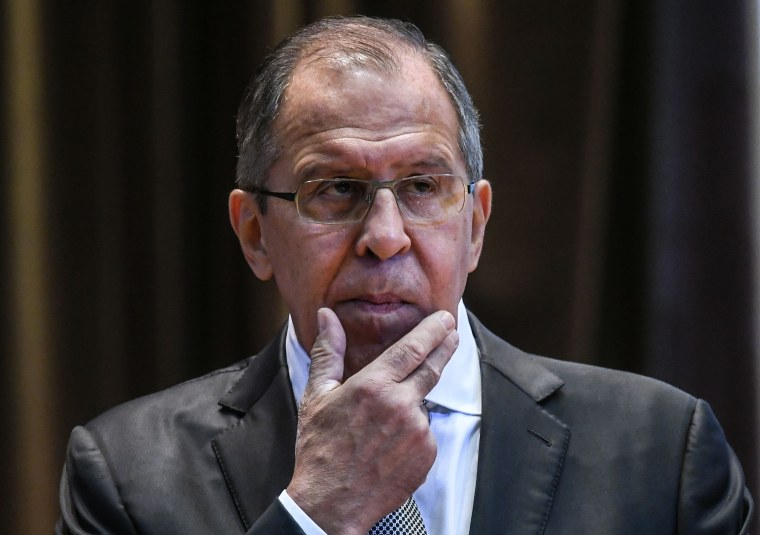 Image: Russian Foreign Minister Sergey Lavrov