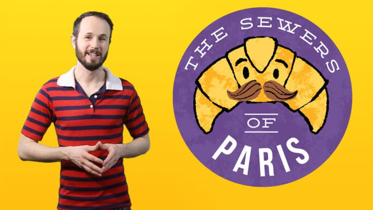 "Matt Baume is the host of the weekly podcast ""Sewers of Paris."""