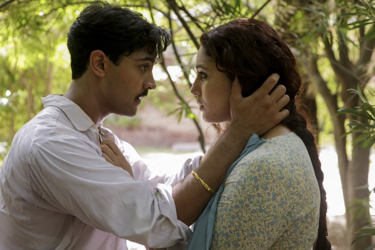 """Manish Dayal and Huma Qureshi play a young couple fighting to stay together in the midst of political turmoil in """"Viceroy's House."""""""