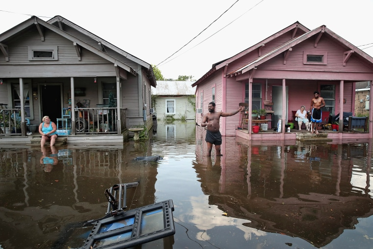 Image: Southeast Texas Inundated After Harvey Makes Second Pass Over The Region