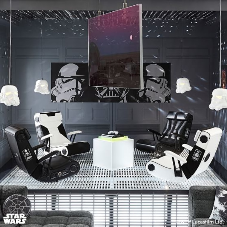 Star Wars Stormtrooper or Darth Vader Media Chair
