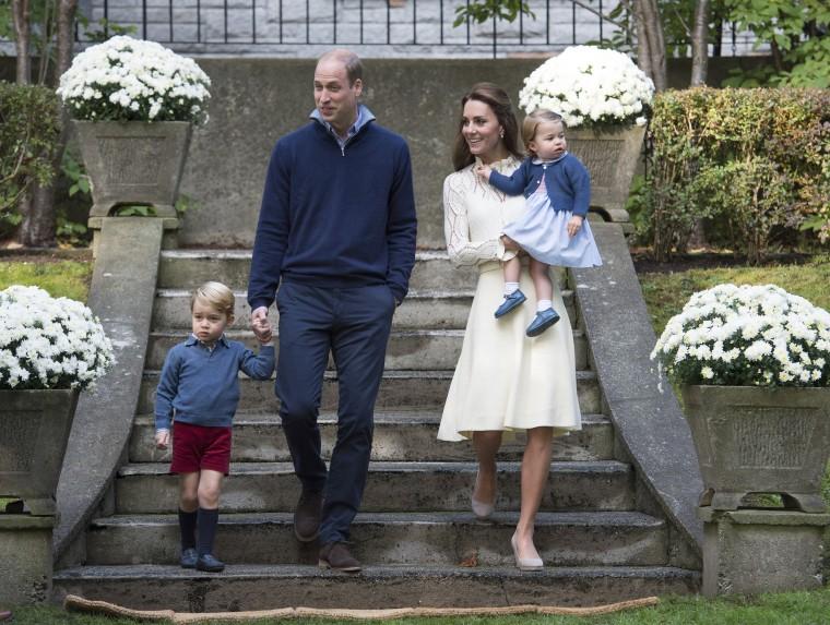Image: Duke and Duchess of Cambridge expect third child