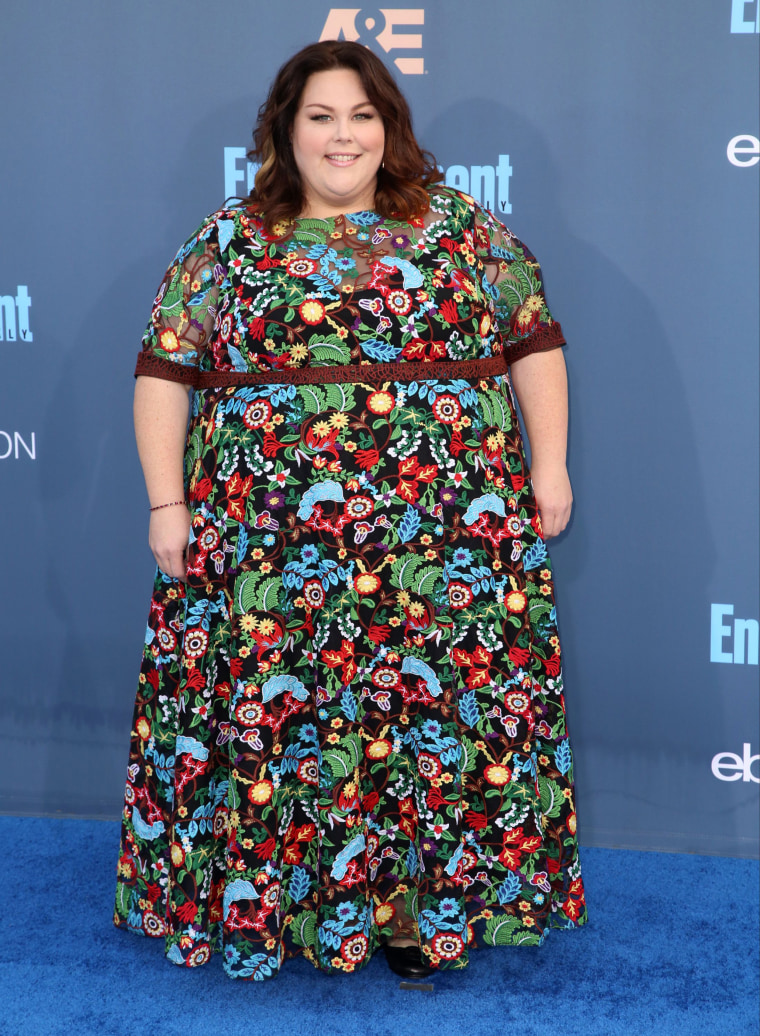 Chrissy Metz at the Critics' Choice Awards last December.