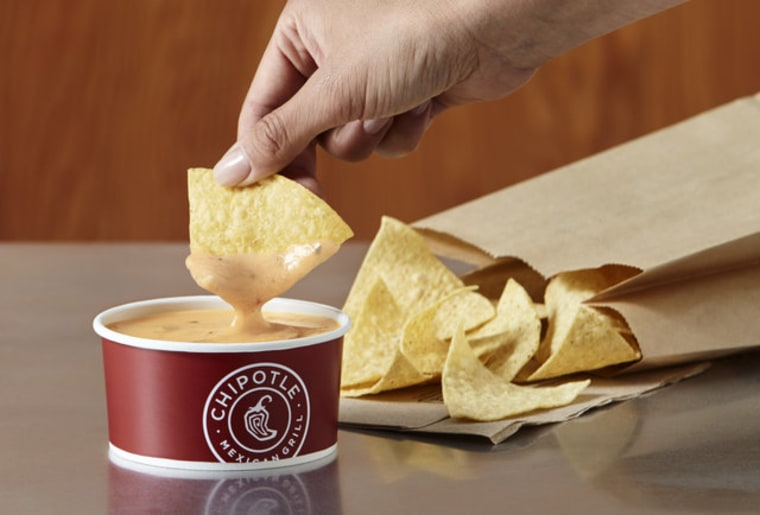 New queso dip from Chipotle