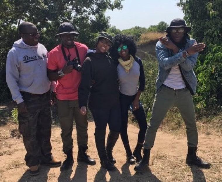 The Anassi family: Omete, Josephine, Atunga, Omete, and Kerubo.