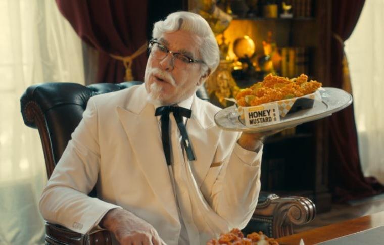 Ray Liotta as KFC's Colonel Sanders
