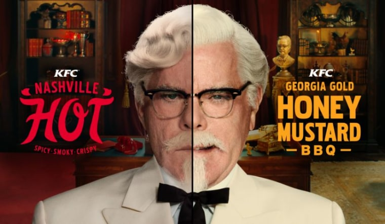Ray Liotta's battle Colonel Sanders characters