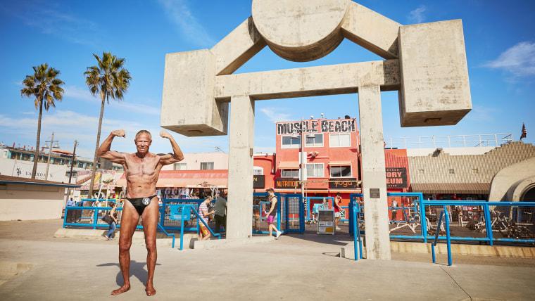 Jim Arrington - Oldest Bodybuilder Guinness World Records 2016 Photo Credit: Ryan Schude/Guinness World Records