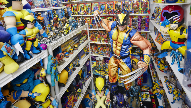 Eric Jaskolka - Largest Collection Of X-Men Memorabilia