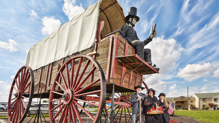 David Bentley - Largest Covered Wagon