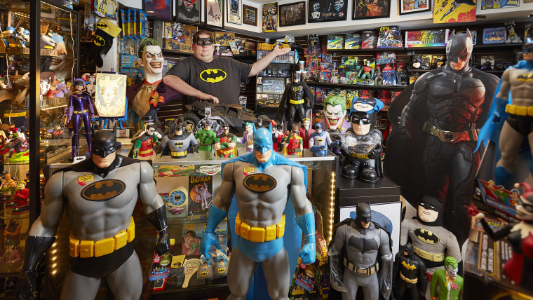 Brad Ladner - Largest Collection Of Batman Memorabilia