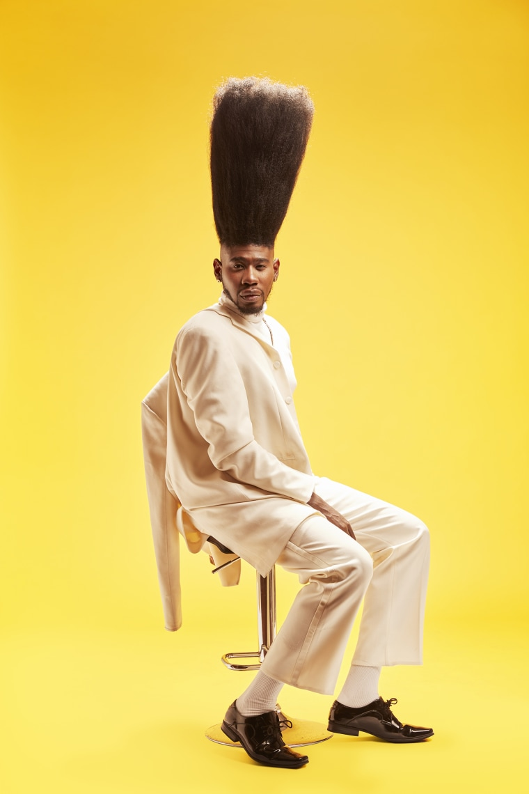 Benny Harlem - Tallest High Top Fade