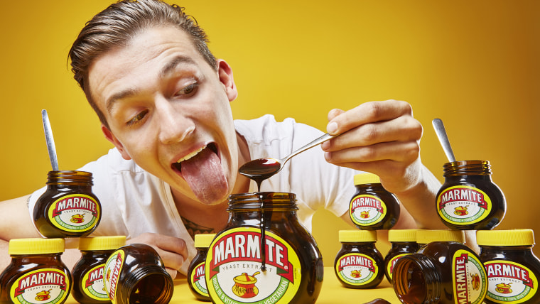 Andre Ortolf - Most marmite eaten in one minute