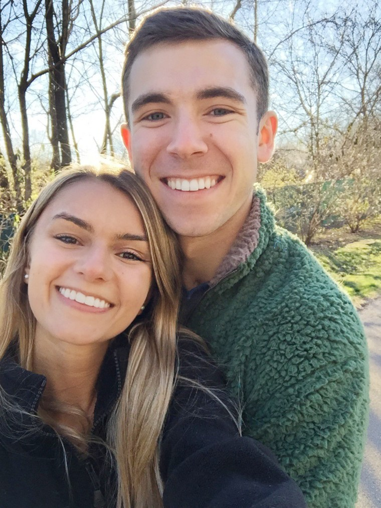 Thanks to the support of his family and girlfriend, Maddie, Brett Becker worked hard to improve his memory and return to college.
