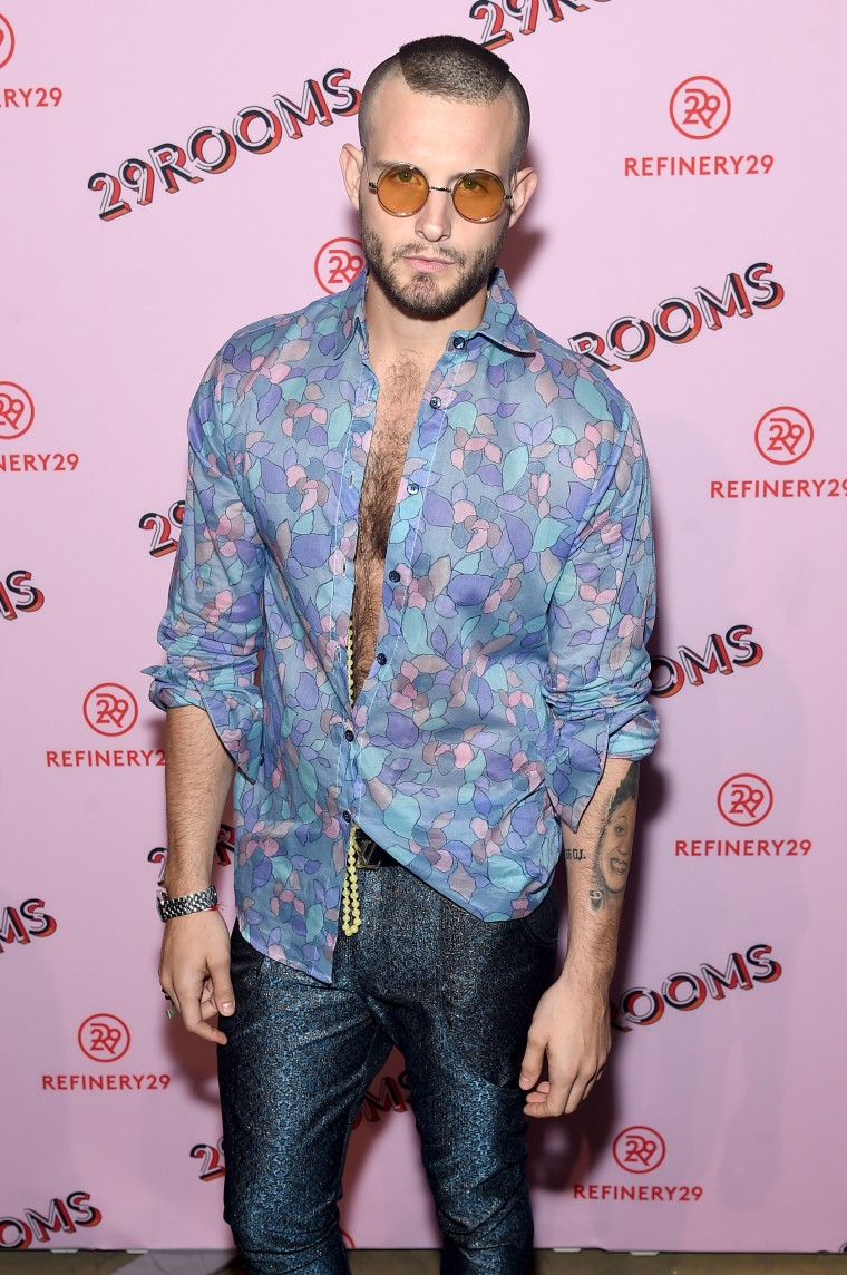 Refinery29 Third Annual 29Rooms: Turn It Into Art, Nico Tortorella