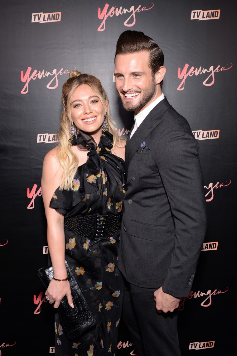 """Younger"" Season Four Premiere Party, Nico Tortorella, Hilary Duff"