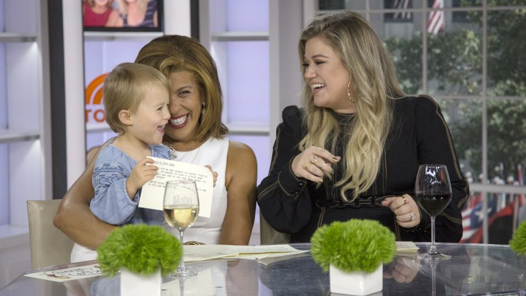 Kelly Clarkson on TODAY.