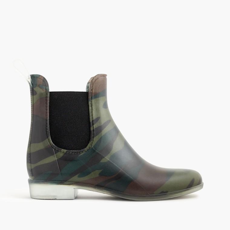 J.Crew Matte Chelsea Rain Boots