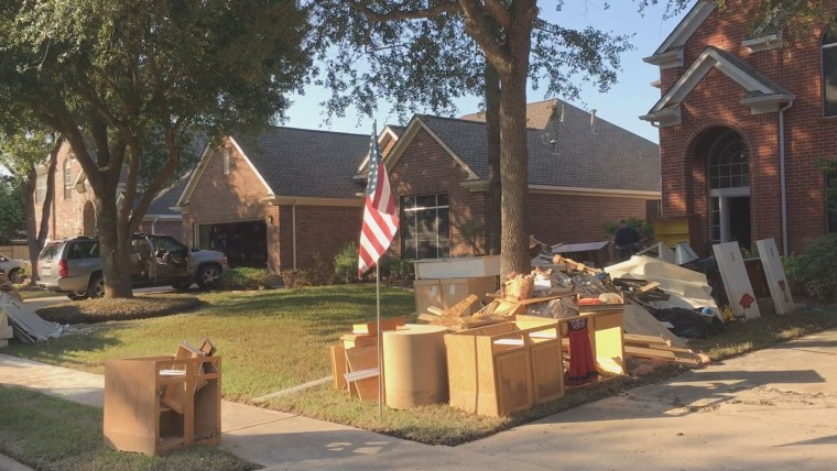 Many people from New Orleans went to Houston to help in recovery from Hurricane Harvey.