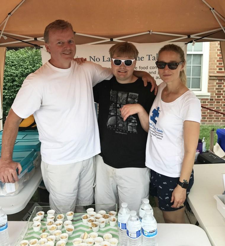 Jeff Wittman, Jacob Wittman and Shelly Henley