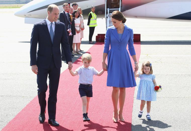 Image: The Duke And Duchess Of Cambridge