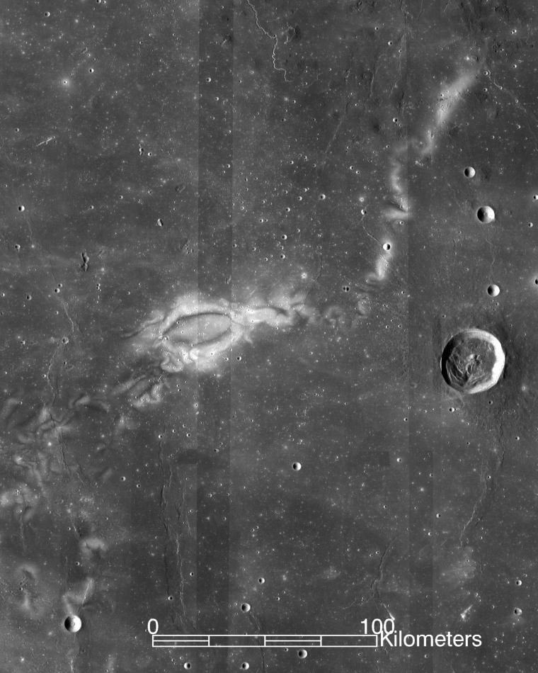 Reiner Gamma Lunar Swirl