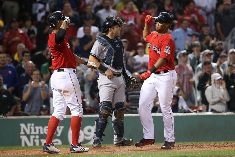 Image: New York Yankees v Boston Red Sox