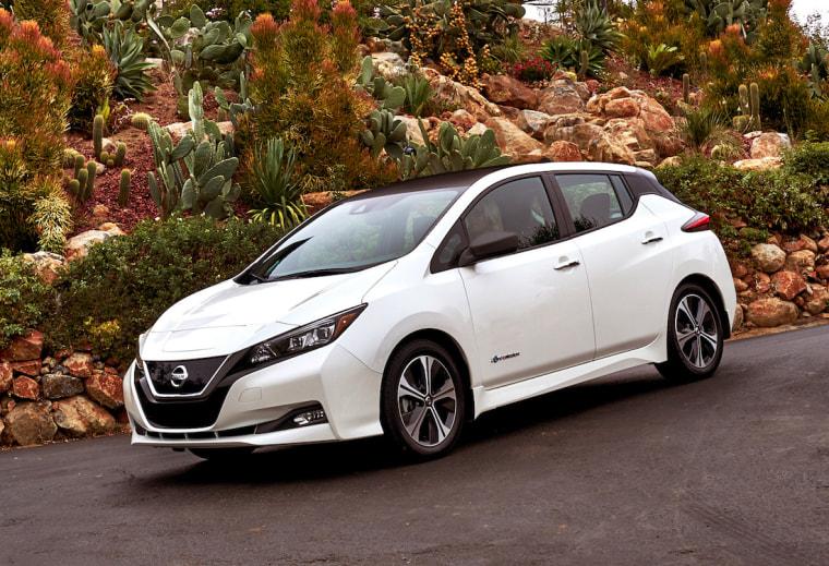 The revamped Nissan Leaf includes new features such as a semi-autonomous ProPilot Assist system.
