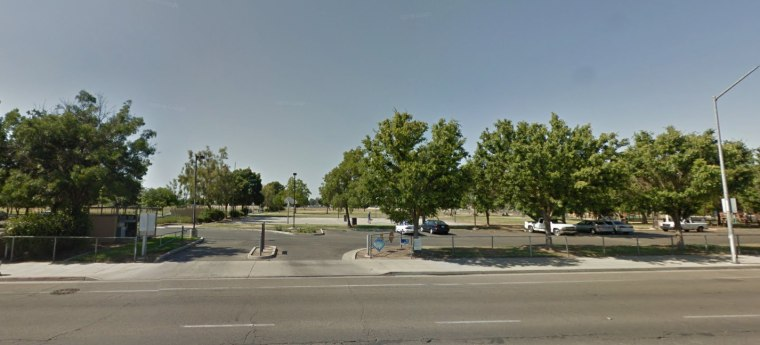 This 2016 image, taken from Google Street View, shows the newly renamed Shaheed Jaswant Singh Khalra Park in Fresno, California.