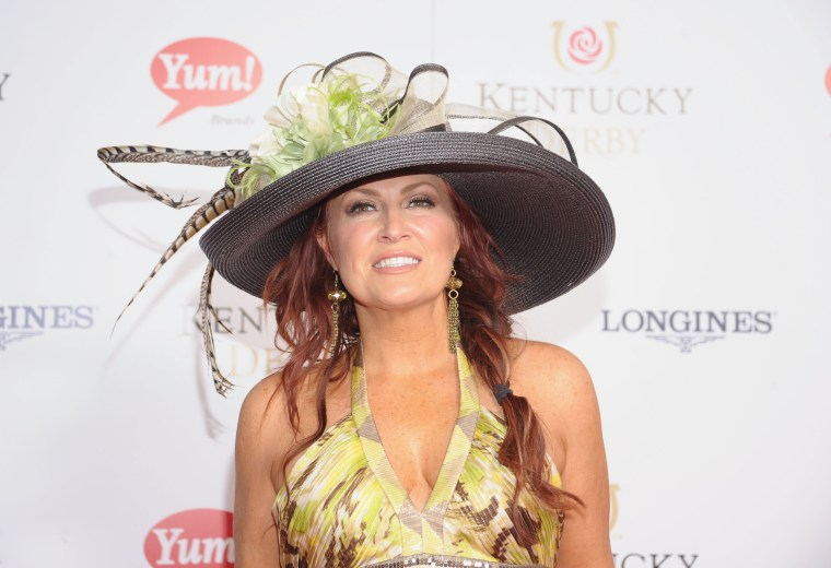 Image: Jo Dee Messina attends the 139th Kentucky Derby