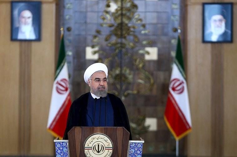 Image: Iran's President Hassan Rouhani.