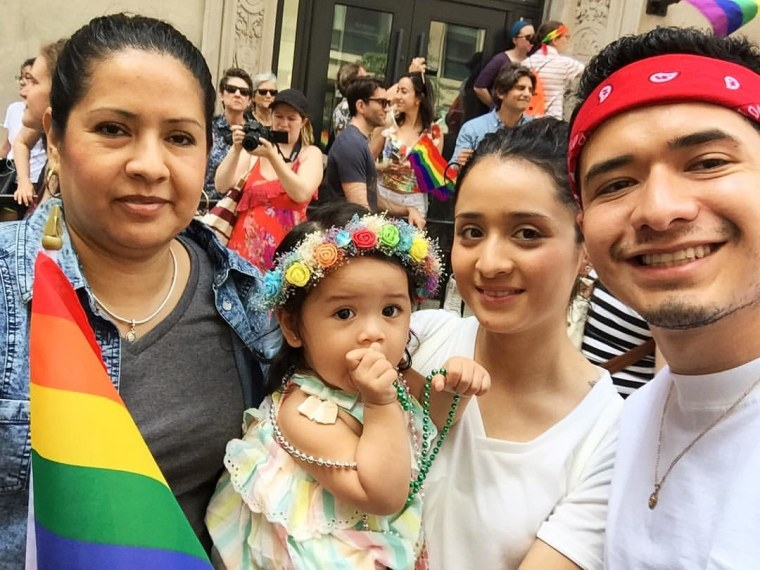 Ricardo Aca (right). Photo courtesy of Ricardo Aca.