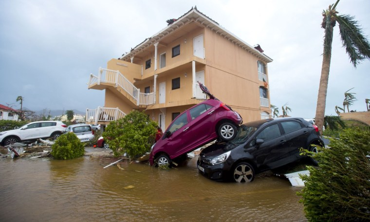 Image: FRANCE-OVERSEAS-CARIBBEAN-WEATHER-HURRICANE