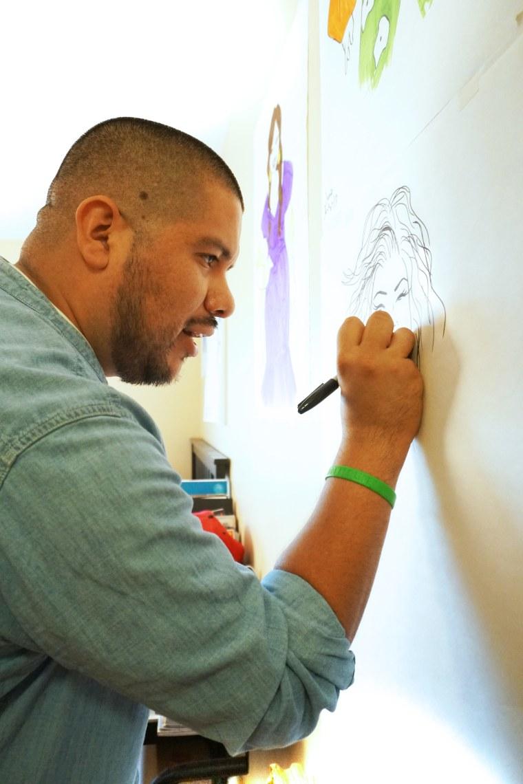 Mexican-American artist Julio Salgado