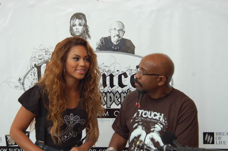 Image: Beyonce and Pastor Rudy Rasmus