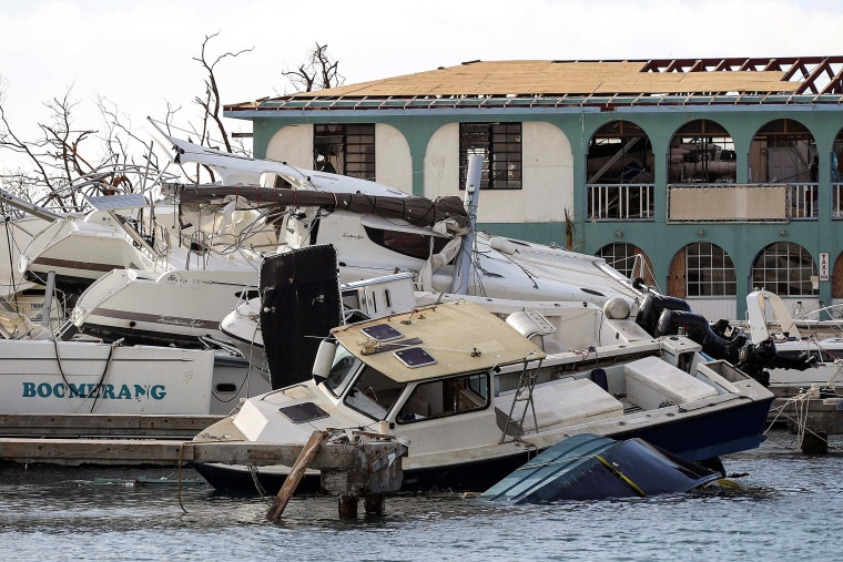 Image: Damage following Hurricane Irma is seen in Tortola, British Virgin Islands