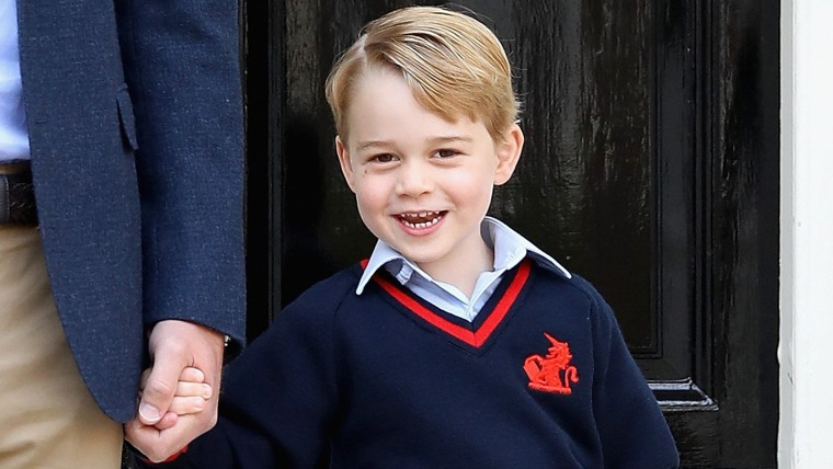 Prince George Attends Thomas's Battersea On His First Day At School