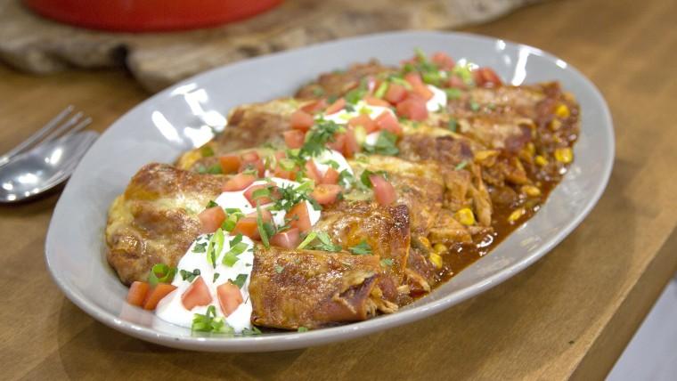 Tyler Florence's Chicken Enchiladas