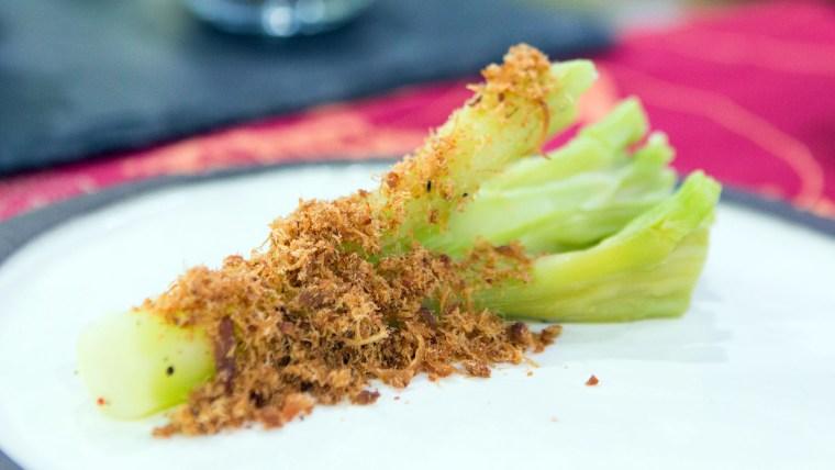 Dan Barber's Herbed Broccoli Stems