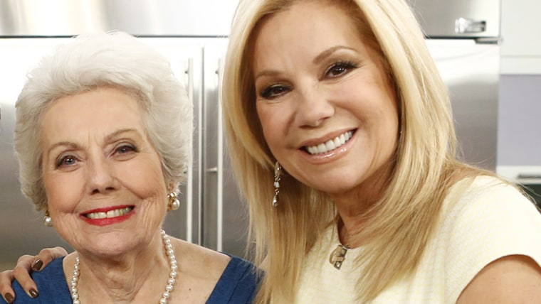 Kathie Lee Gifford and her mother, Joan Epstein, who passed away earlier this week.