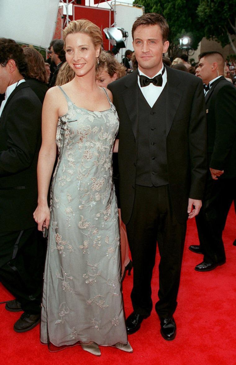 Matthew Perry and Lisa Kudrow