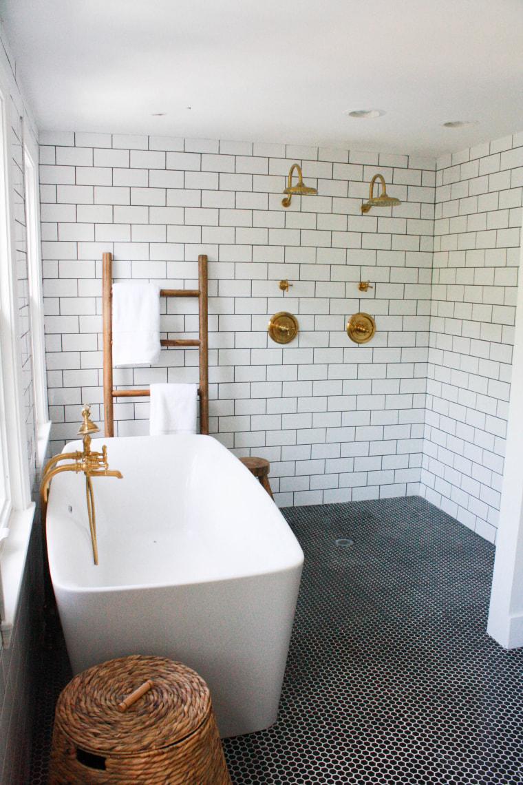 luxury bathroom makeover