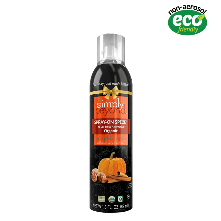 Pumpkin spice spray-on oil