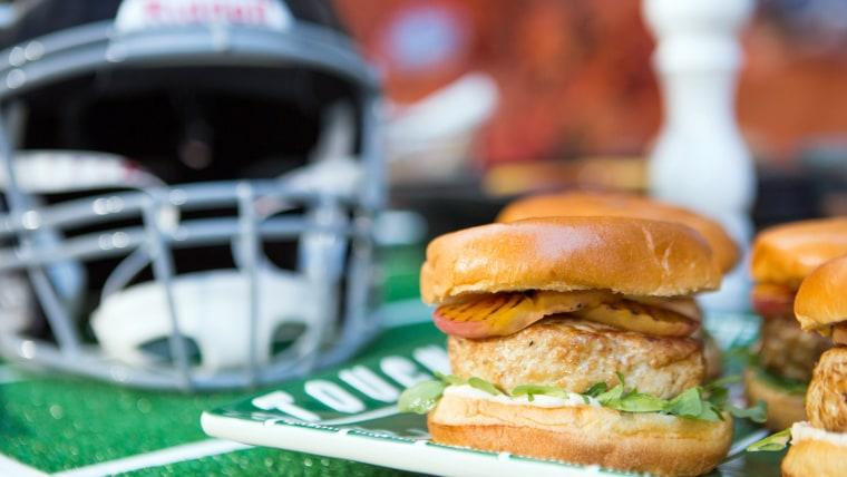 Jamika Pessoa's Bacon-Stuffed Turkey Burger